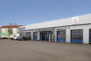 Standort Gotha Ford und Citroën Vertragshändler