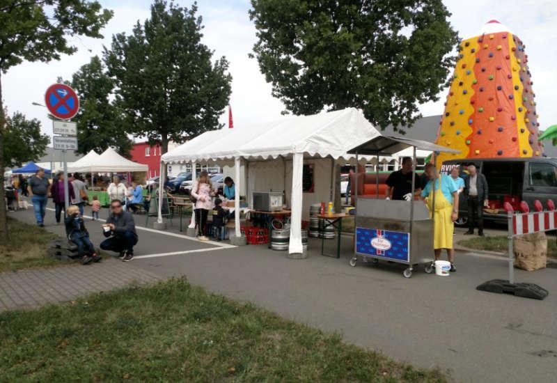 Kühn´s Familienfest - vielen Dank an den Arnstädter Karneval Club e.V. für die gastronomische Unterstützung