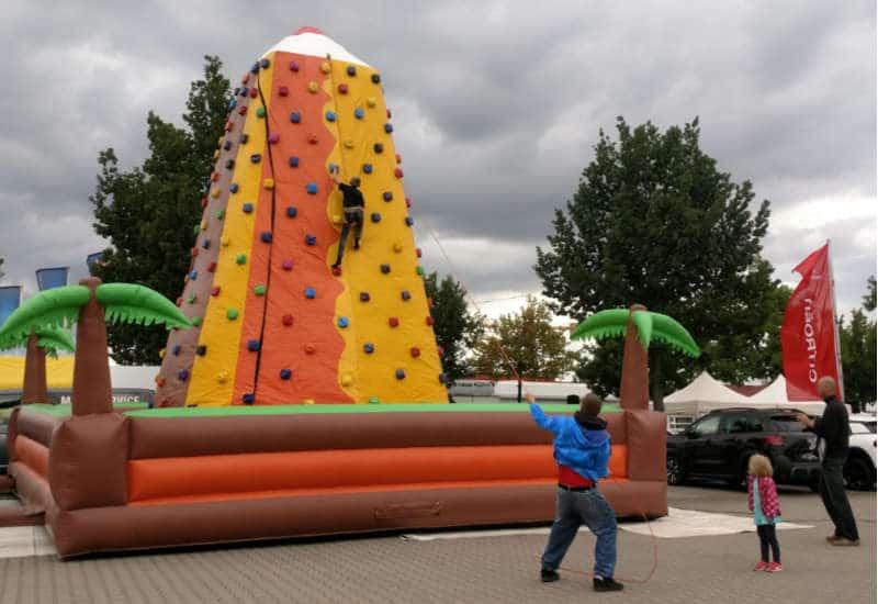 Kühn´s Familienfest - Kletterberg für die Kinder